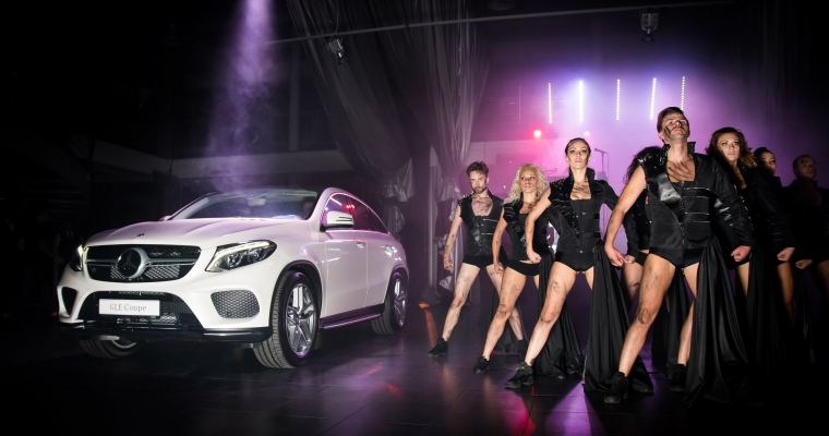 Презентация Mercedes GLC и GLE